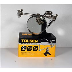 5)  TOLSEN HELPING HANDS MAGNIFIER