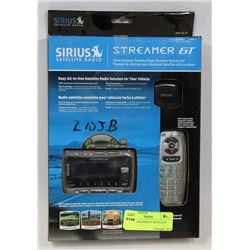 SIRIUS STREAMER GT SATELLITE RADIO.