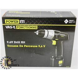 POWER IT 9.6V DRILL KIT