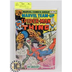 VINTAGE MARVEL TEAM UP-SPIDERMAN AND THE THING