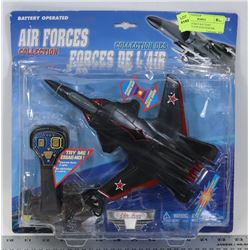 NEW AIR FORCE BATTERY OPERATED TOP GUN FIGHTER
