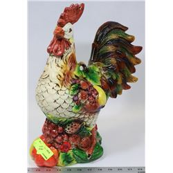 LARGE ROOSTER DECOR