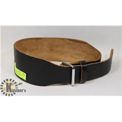 PROFESSIONAL WEIDER WEIGHT LIFTING LEATHER BELT