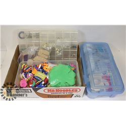 LOT OF SEWING MATERIALS\CRAFT SUPPLY