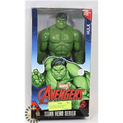 TITAN HERO SERIES MARVEL AVENGER HULK FIGURE.