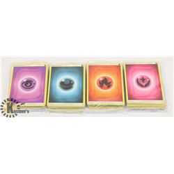 4 LARGE PACKS UNOPENED POKÉMON CARDS