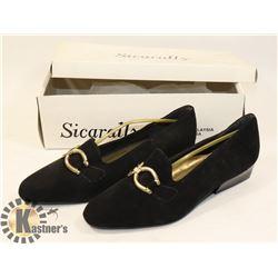 SICARALLY BLACK, LADIES SZ 6