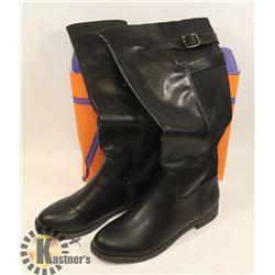 JJ'S FOOTWARE BOOTS BLACK SZ 6 LADIES