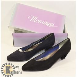 MONIQUES BLACK SZ 8AA LADIES