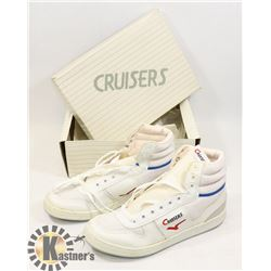 CRUISERS WHITE SZ 6 LADIES