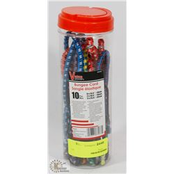 NEW! 10PC BUNGEE CORD SET
