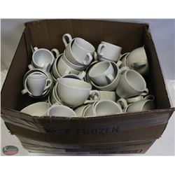 LOT OF APPROX. 45 ASSORTED COFFEE CUPS