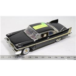 1958 PLYMOUTH FURY CAR BY MOTO MAX 1/18 SCALE