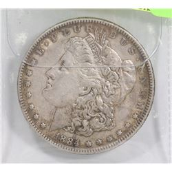 USA 1884 MORGAN SILVER DOLLAR