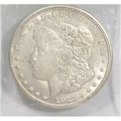 USA 1921 MORGAN SILVER DOLLAR