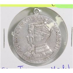 KING GEORGE 1937 CORONATION NECKLACE MEDAL