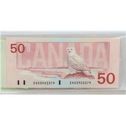 1988 CANADIAN $50 BILL
