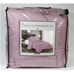 NEW AVONDALE MANOR 7 PC QUEEN SIZE COMFORTER SET
