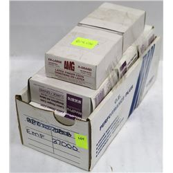 LOT OF 10 BOXES OF LARGE & X-LARGE FINGER COTS