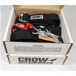 NEW 2 SETS OF CROW DRIVER RESTRAINTS  SYSTEM