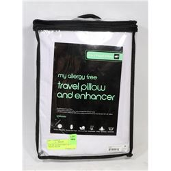 NEW MY ALLERGY FREE 2 IN 1 TRAVEL PILLOW