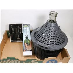 NEW 10L MADE IN ITALY WINE MAKING BOTTLE &