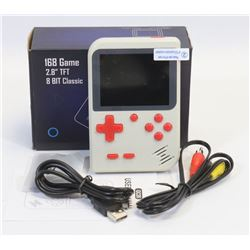 NEW 168 BUILT IN GAMES HANDHELD GAME SYSTEM