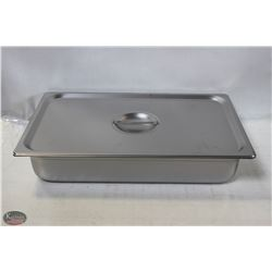 FULL SIZE STAINLESS STEEL INSERT W/ LID