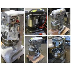 FEATURED LOTS: VARIETY OF COMMERCIAL GRADE MIXERS!