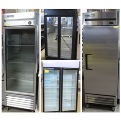 FEATURED LOTS: UPRIGHT REFRIGERATED COOLERS