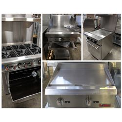 FEATURED LOTS: COMMERCIAL RANGE'S & GRIDDLES