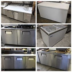 FEATURED LOTS:REFRIGERATED PREP-COOLERS & FREEZERS