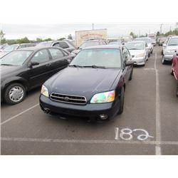 2002 Subaru Legacy