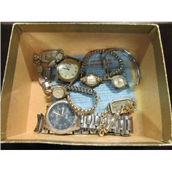 ESTATE - BOX OF ASSORTED WATCHES