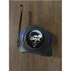 NEW - ONYX 25 FOOT TAPE MEASURE