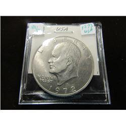 1972 EISENHOWER USA LEGAL TENDER DOLLAR COIN