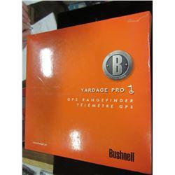 BUSHNELL YARDAGE PRO GPS RANGE FINDER - BOX