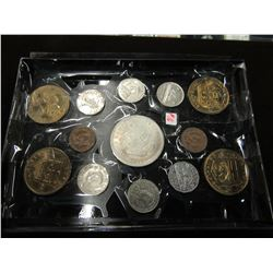 TRAY OF CANADA & SHELL OIL COLLECTIBLE COINS