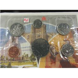1986 PROOF CANADA MINT SEALED COIN SET