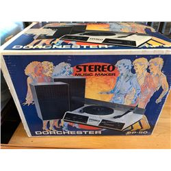 VINTAGE TURNTABLE - AS NEW IN BOX