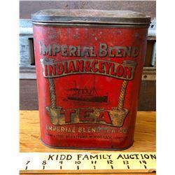 IMPERIAL BLEND TEA TIN