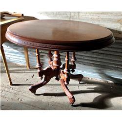 EASTLAKE STYLE PARLOUR TABLE