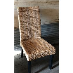 OCCASIONAL CHAIR WOVEN MATERIAL