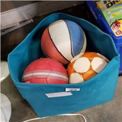 SPORTS BALLS AND BEACH GAME EQUIPMENT