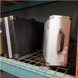 METAL TRIFOLD CASE AND MUSICAL INSTRUMENT CASE