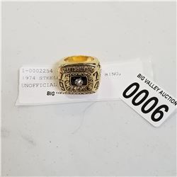 1974 STEELERS SUPERBOWL RING, UNOFFICIAL