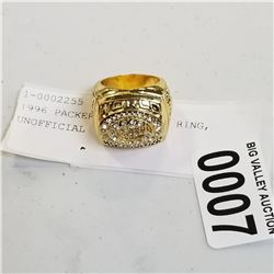 1996 PACKERS SUPERBOWL RING, UNOFFICIAL