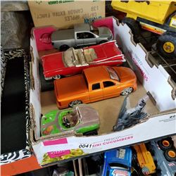 LOT OF TOYS AND DIE CAST CARS