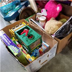 LOT OF TOYS, GAMES, AND BEARS