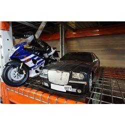 RC CAR AND MOTORCYCLE